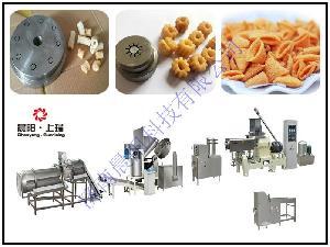 休闲膨化食品机械设备  休闲小食品加工机械