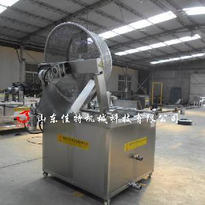 电加热麻花油炸机 大型连续式油炸机