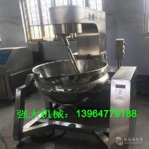食品机械 行星搅拌炒锅 夹层锅 酱料炒锅