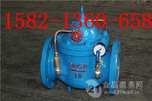 铸钢法兰微阻缓闭式消声止回阀300X-16 DN150