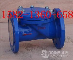 铸钢/不锈钢法兰橡胶瓣止回阀HC44X-16C/16P DN150