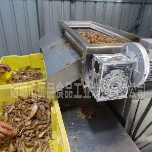 双层网带带鱼油炸机 鱼罐头成套流水线 多台现货欲购从速