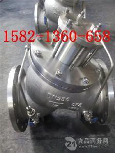 不锈钢活塞式多功能水泵控制阀JD745X-10P/16P DN250