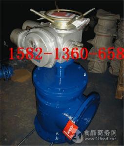污水处理厂用带手动电动角式排泥阀J944X-16 DN200