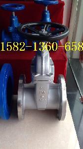 304不锈钢暗杆弹性座封闸阀Z45X-10P/16P DN100