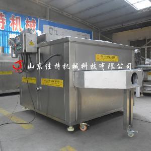 洛阳豆腐干油炸机 燃气自动控温油炸机