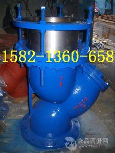 铸钢法兰Y型拉杆伸缩法兰式过滤器SGL41HYSTF-16C DN200