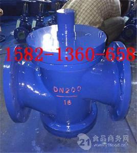 厂家直销铸钢法兰自力式流量平衡阀ZLF-10C/16C DN100