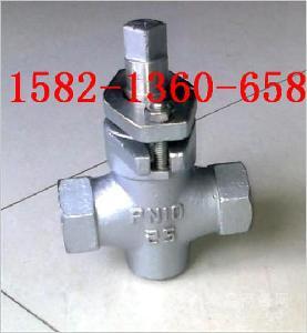 304不锈钢二通/三通内螺纹旋塞阀X13W/X14W-10P DN25