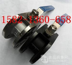 龙湾厂家碳钢意大利式超薄型对夹球阀Q71F-16C DN80