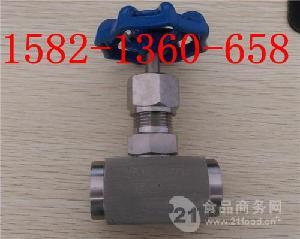 304不锈钢高温高压电站承插焊针型阀J61W-16P/320P DN6
