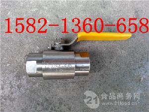 304不锈钢内螺纹气源球阀Q11F/SA-64P DN15