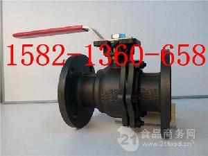 厂家直销美标碳铸钢WCB法兰高平台球阀Q41F-150LB DN50