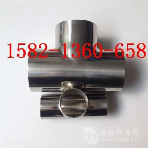 304316L不锈钢卫生级等径焊接三通Φ51*1.5mm