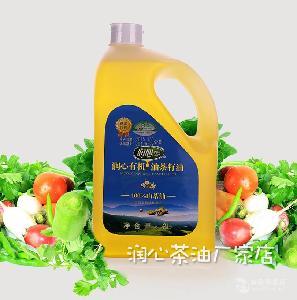 江西润心茶油2L经济装纯茶油全国招商