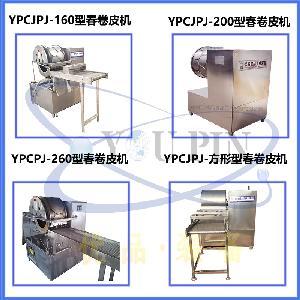 优品机械全自动蛋皮成型机 超薄圆形烤鸭饼机 越南春卷皮成型机