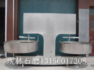 章丘现林   不锈钢晃油机   炒锅   小型香油石磨