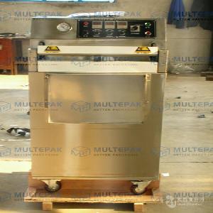 DZQ-600L立式外抽真空包装机 气调真空包装机 气调机