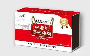 中老年高钙木盒奶
