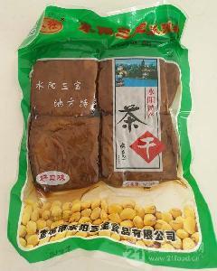 茶干五香味水阳三宝水社水阳8块装真空包装