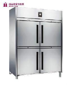 美科冷冻 双通门高身冷柜