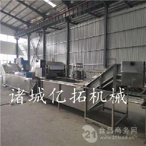 速冻毛豆加工生产线