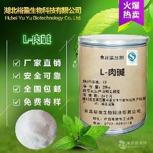 批发供应 L-肉碱 营养强化剂 食品级 左旋肉碱 质量保障 1kg起订
