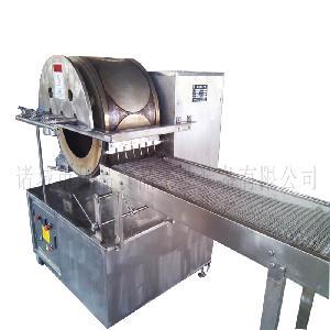 优品烤鸭饼全自动烤鸭饼机生产线价格 小型春卷皮机无废料机器