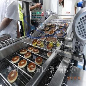 迷你甜甜圈油炸机 全自动商用鸡米花油炸机 双面炸面包圈机器
