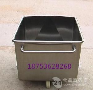 肉料车 食品厂用料斗车 滚揉机桶车