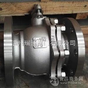 不锈钢精铸法兰球阀Q41F-16P