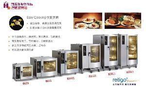 富申冷机  蒸烤箱