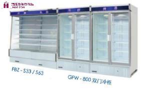 富申冷机  展示冷柜