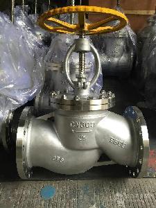 不锈钢法兰氨用截止阀J41B-16P