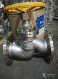 不锈钢法兰氨气截止阀J41B-16P 304