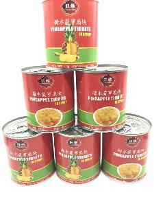 糖水菠萝罐头 新鲜水果罐头 300克 厂家直销 零售食品批发 招代理