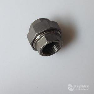 304不锈钢NPT丝口活接DN25DN32DN40