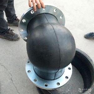 WTX型90度弯头可曲挠橡胶软接头DN150
