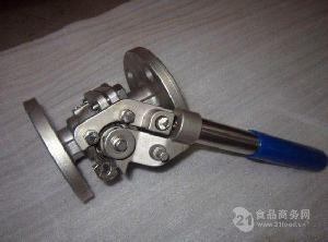 TQ41F-150LB DN50美标碳钢法兰弹簧自动复位球阀