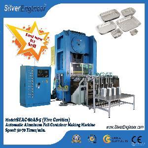【银工机械】厂家供应全自动铝箔容器/餐盒包装生产线 模具/冲床