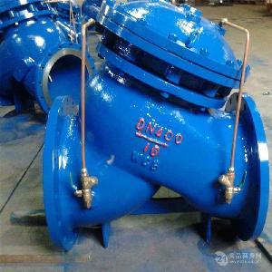 304不锈钢隔膜式多功能水泵控制阀JD745X-16P DN100