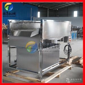 厂家定制款毛刷洗果机 自动芒果清洗机 高压喷淋水