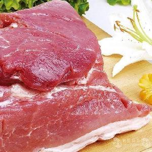 冷冻的猪肉