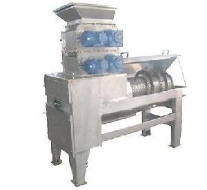 供应石榴去皮榨汁机—新乡新航液压设备公司石榴破碎机厂家