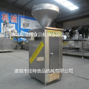 靖江特产腊肠灌肠机 大型连续灌肠机