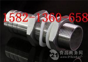 304不锈钢水箱宝塔接头 软管皮管穿板接头3分4分6寸1寸