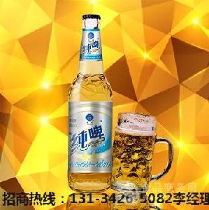 山东啤酒厂低价招商/冰纯啤酒代理