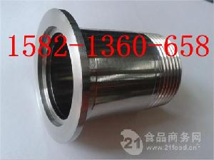 304不锈钢卫生级数控一体式真空KF快装外丝KF25-3/4