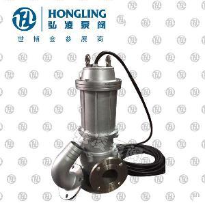 永嘉QWP型不锈钢防爆潜水排污泵