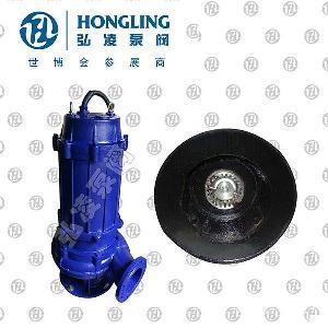 永嘉WQ/S型带刀切碎式潜水排污泵